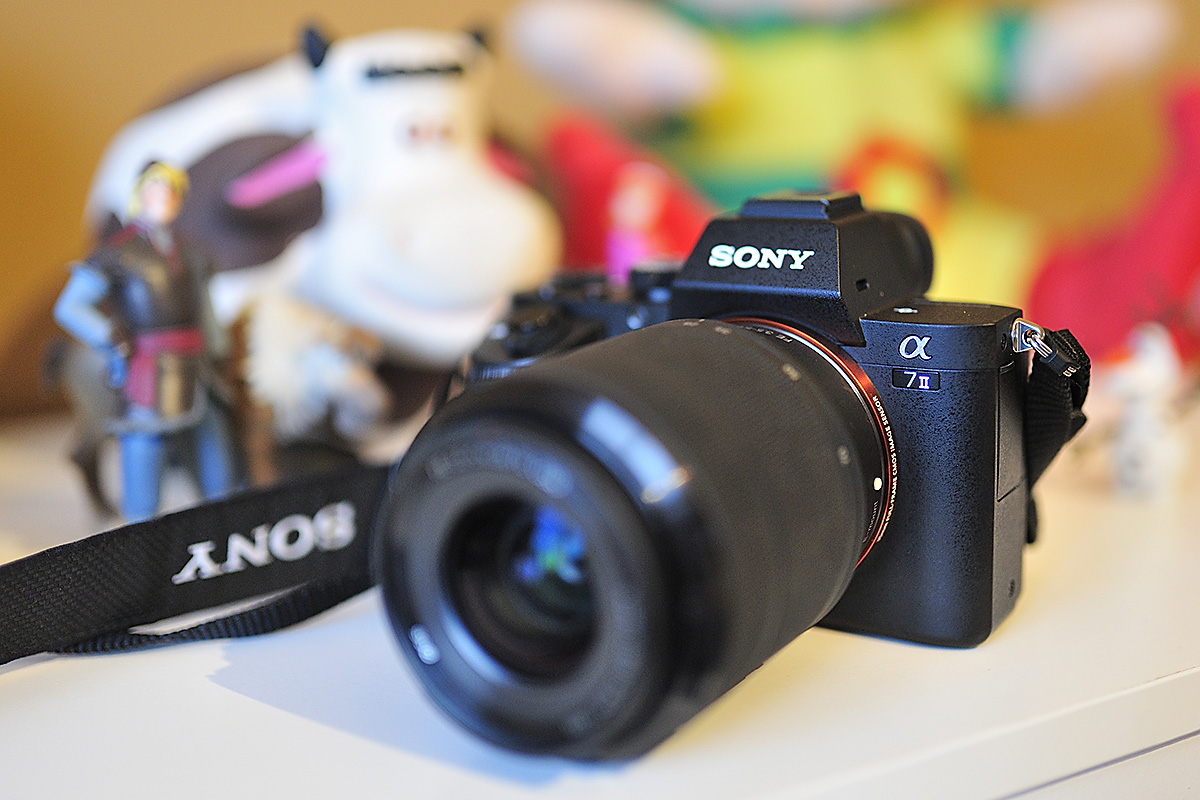 Test SONY a7II