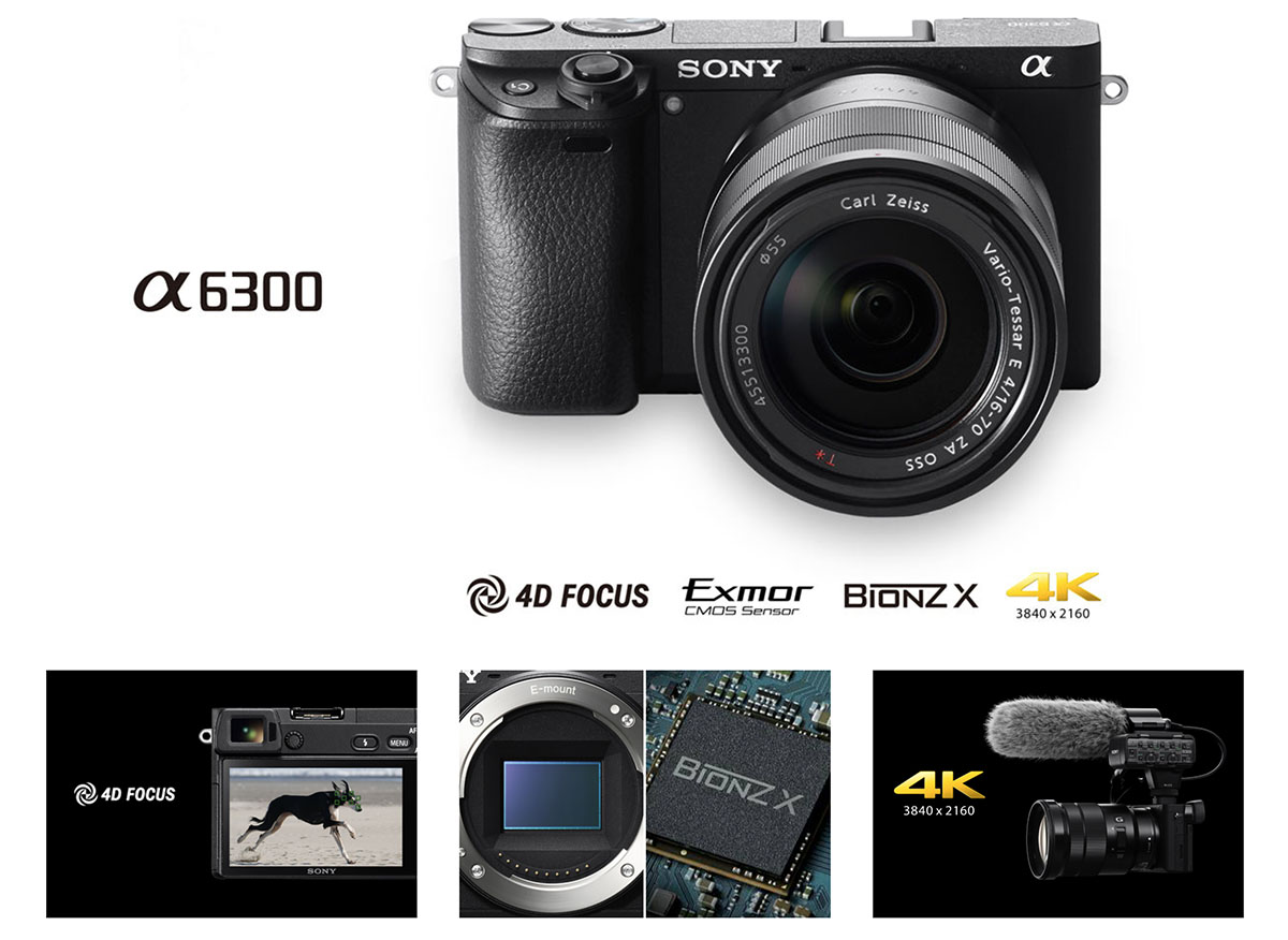 Sony a6300 specs