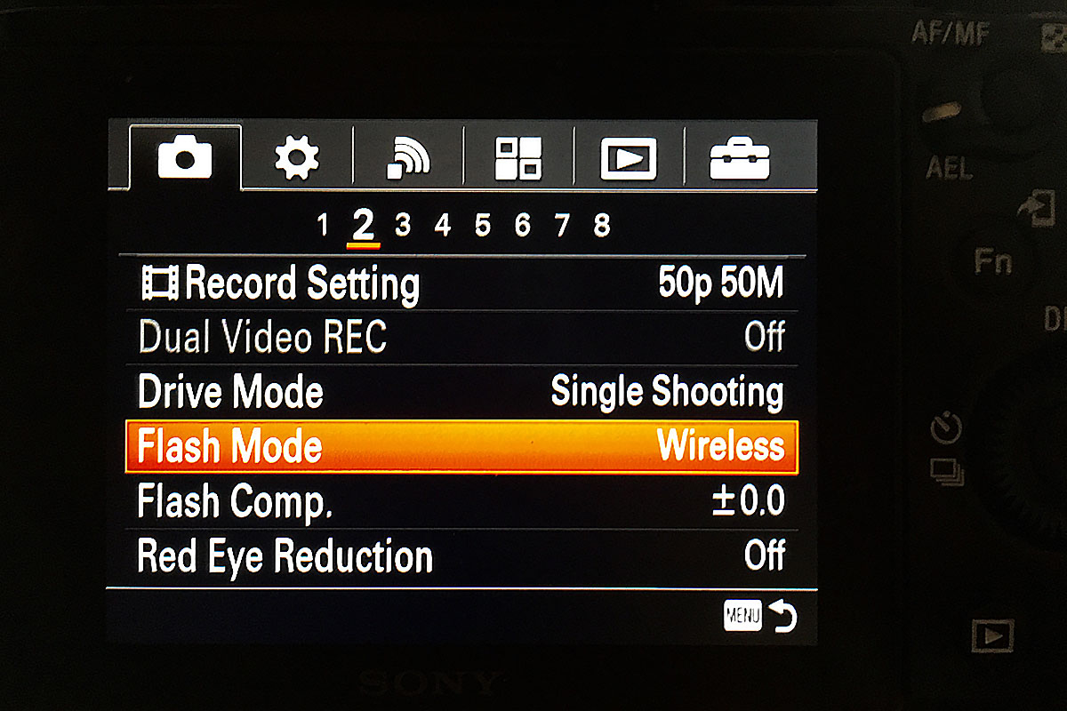 Flash Mode Wireless