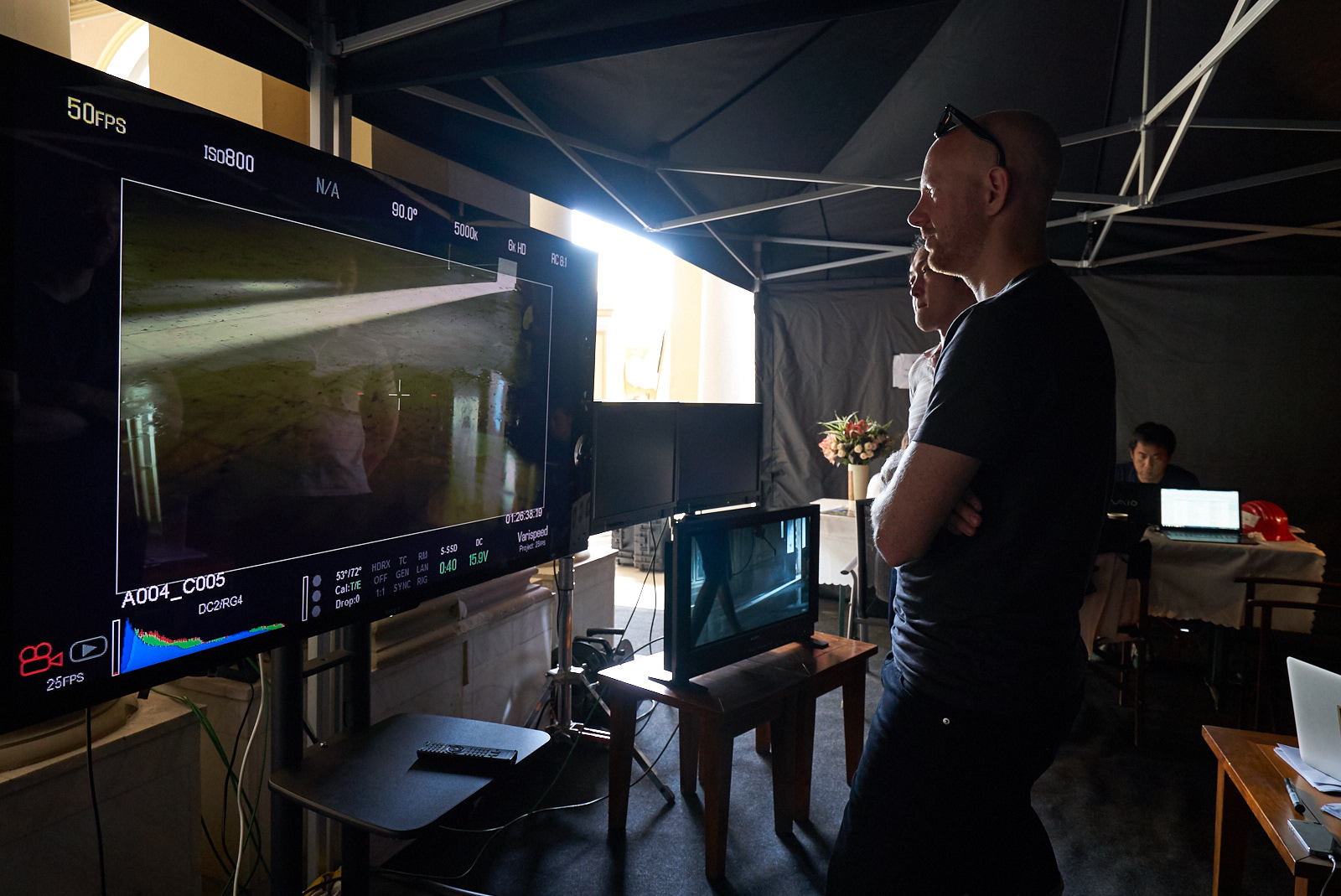 Every scene was revised and approved by all decisional factors: director, producer and the client