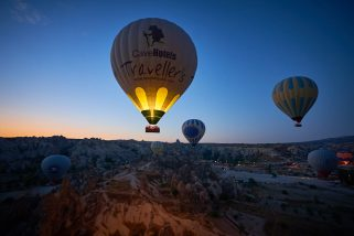 Sony A9 takes a flight in Cappadocia