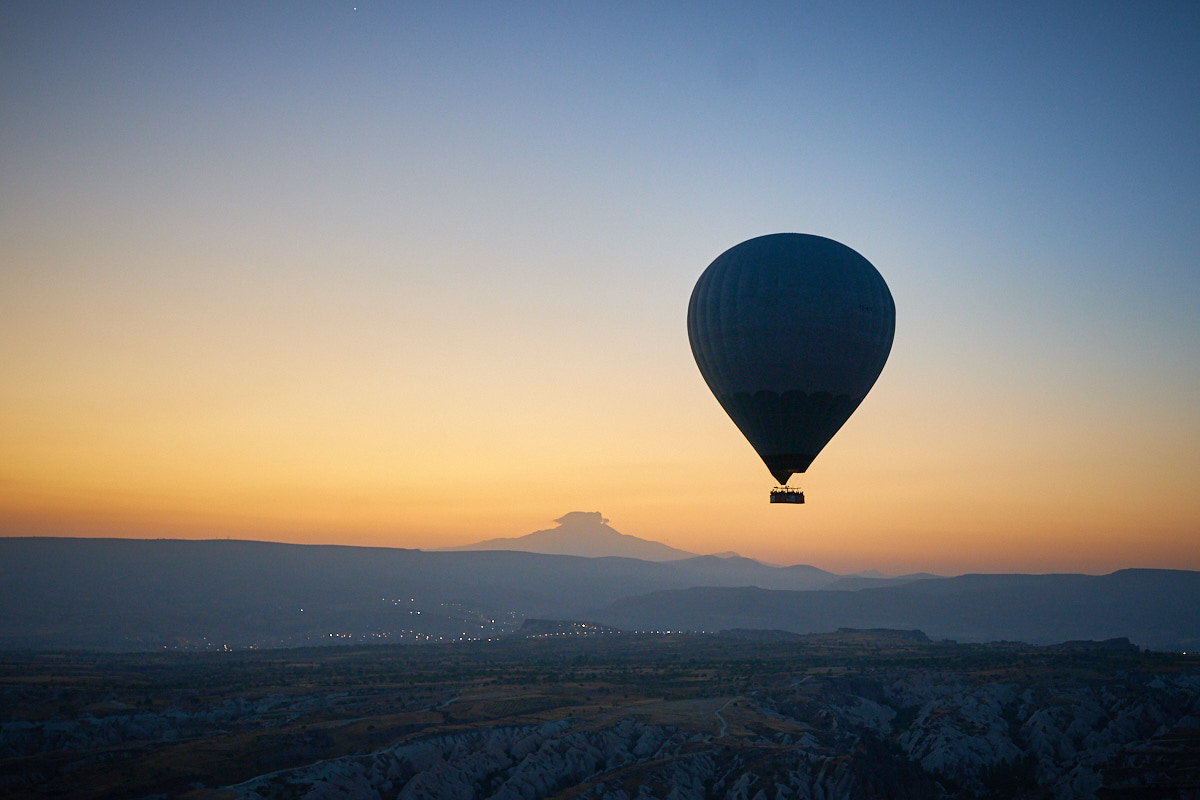 Sony A9 hot air balloon
